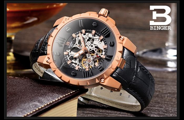 Đồng hồ nam Binger BG001 1