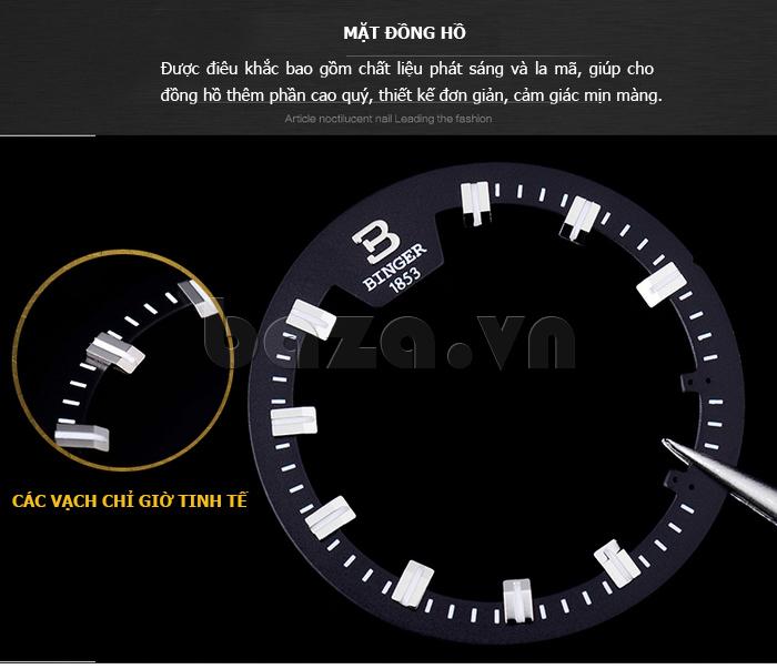 Đồng hồ doanh nhân nam Binger BG001