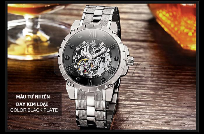 Đồng hồ nam Binger BG001 4