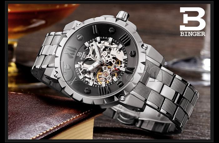 Đồng hồ nam Binger BG001 5
