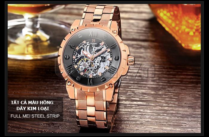 Đồng hồ nam dây kim loại Binger BG001