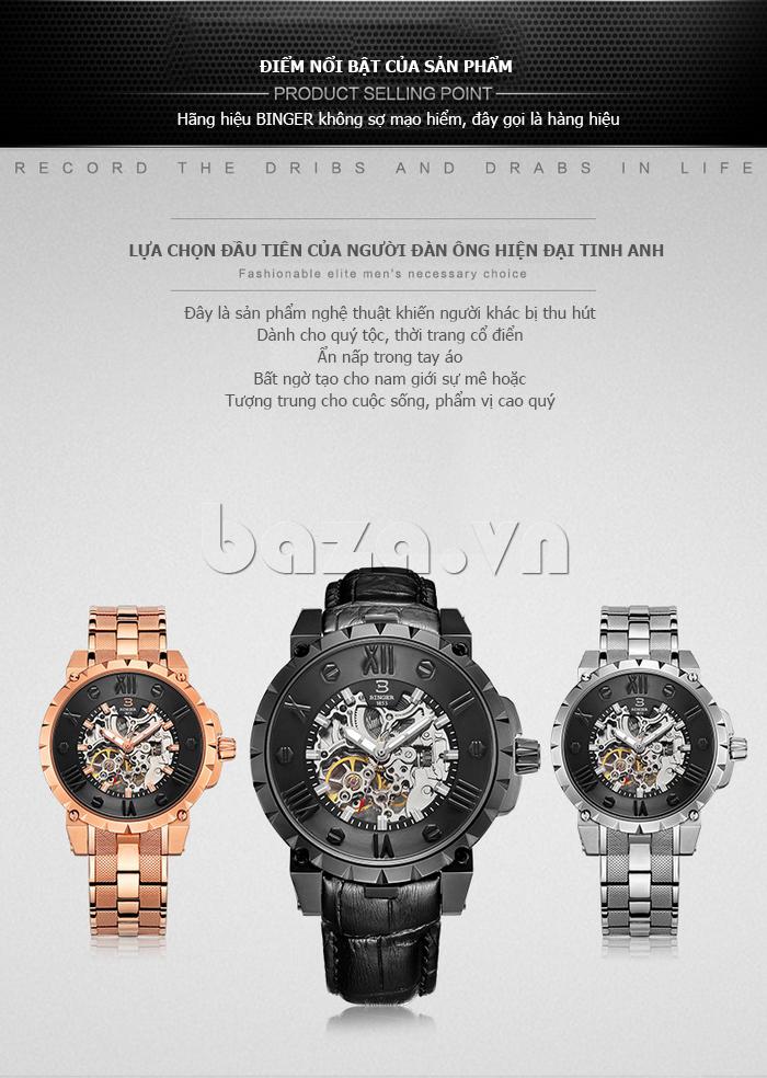 Đồng hồ nam Binger BG001