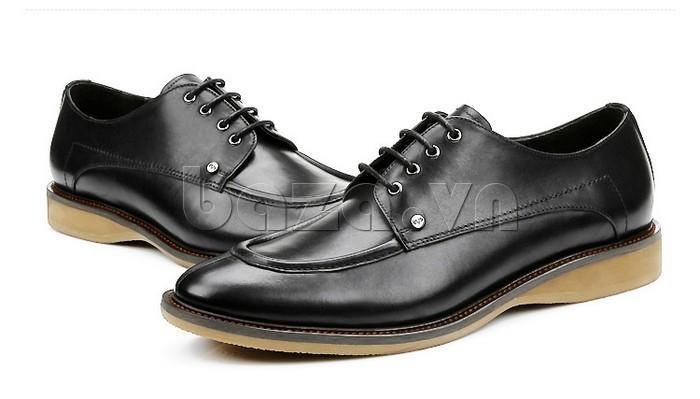 Giầy da nam thời trang Olunpo XL03004 thuộc loại giày da buộc dây