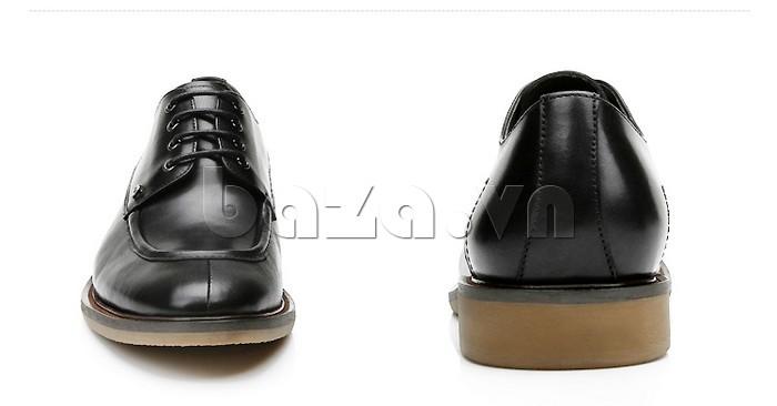 Giầy da nam thời trang Olunpo XL03004 - Mặt trước và sau