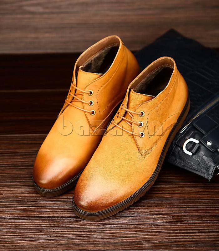 Giày da nam Olunpo DHT1442 chính hãng