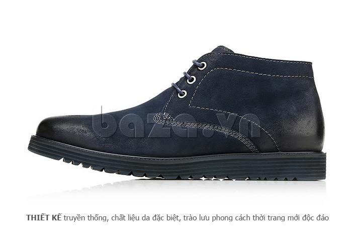 Giày da nam Olunpo DHT1442 sang trọng