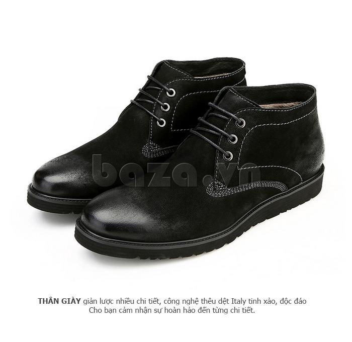Giày da nam Olunpo DHT1442 cá tính cho nam giới