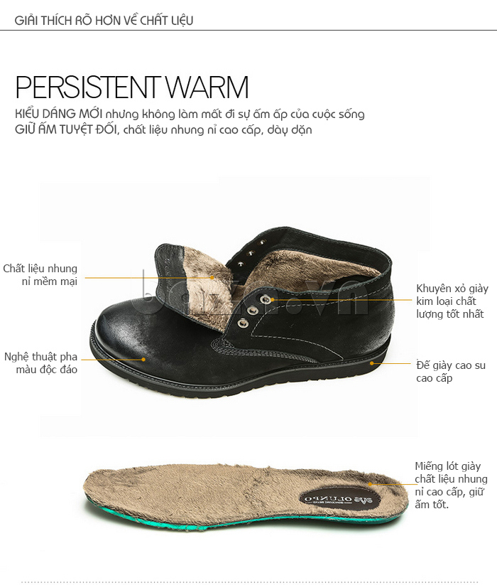 Giày da nam Olunpo DHT1442 chất liệu cao cấp bền đẹp