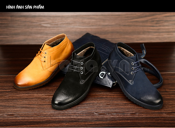 Giày da nam Olunpo DHT1442 lịch lãm