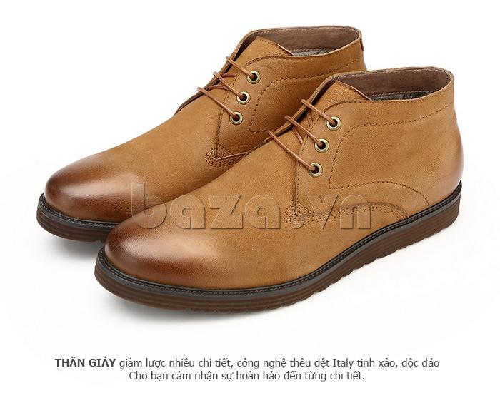 Giày da nam Olunpo DHT1442 cao cấp được nhiều người yêu thích