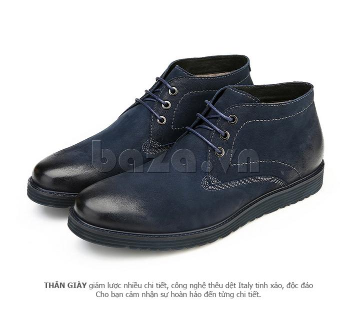 Giày da nam Olunpo DHT1442 màu sắc dễ mix đồ