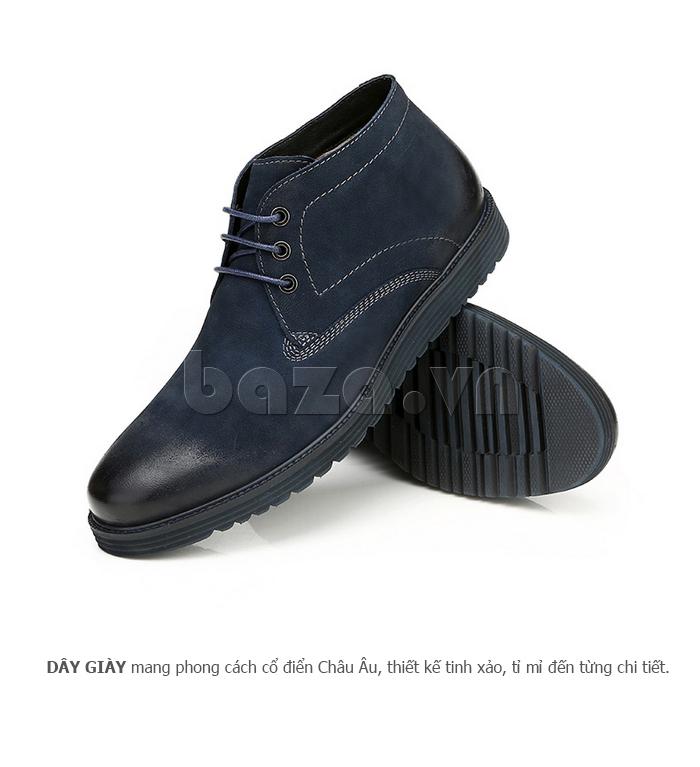 Giày da nam Olunpo DHT1442 đẹp mắt