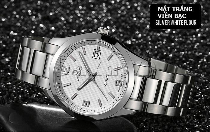 Đồng hồ nữ máy Quartz Vinoce 8380 thiết kế đẹp độc đáo