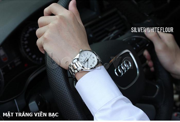 Đồng hồ nữ máy Quartz Vinoce 8380 thiết kế đẹp thời trang