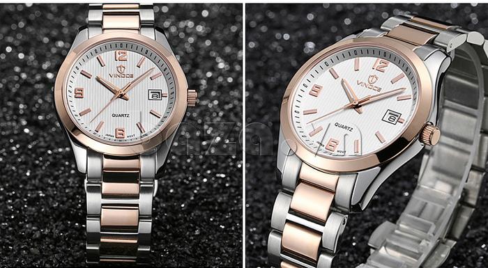 Đồng hồ nữ máy Quartz Vinoce 8380 thiết kế đẹp bền đẹp
