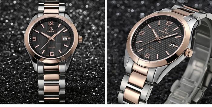 Đồng hồ nữ máy Quartz Vinoce 8380 thiết kế đẹp chính hãng
