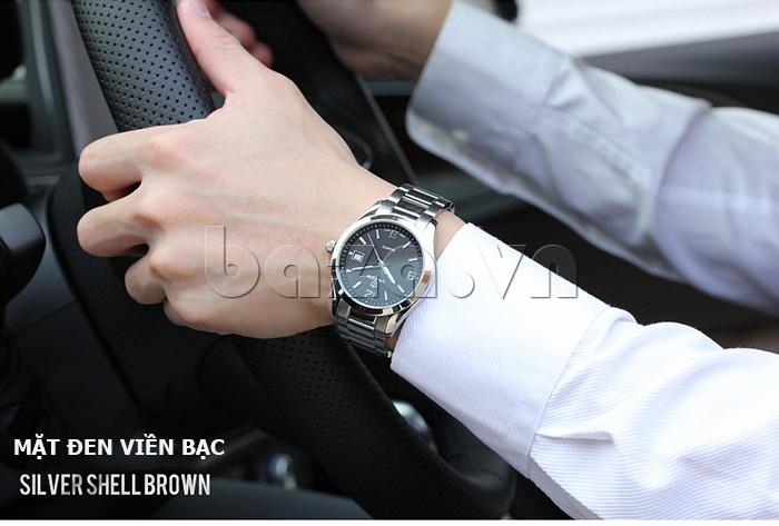 Đồng hồ nữ máy Quartz Vinoce 8380 thiết kế đẹp tinh tế