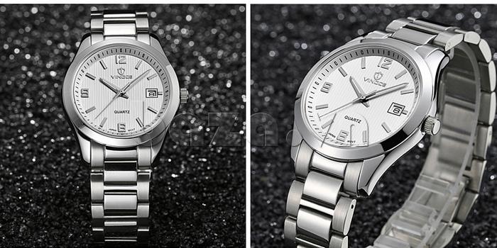 Đồng hồ nữ máy Quartz Vinoce 8380 thiết kế đẹp hiện đại