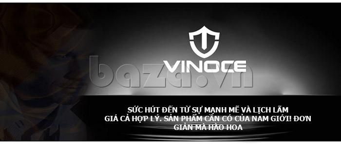 Đồng hồ nữ máy Quartz Vinoce 8380 thiết kế đơn giản chính hãng