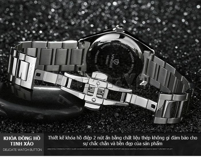Đồng hồ nữ máy Quartz Vinoce 8380 thời trang