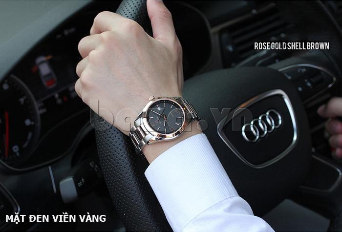 Đồng hồ nữ máy Quartz Vinoce 8380 thiết kế đẹp lạ