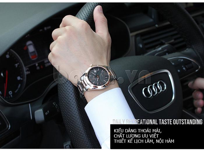 Đồng hồ nữ máy Quartz Vinoce 8380 thiết kế đơn giản phong cách