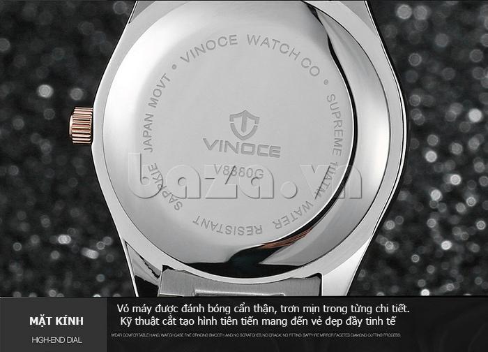 Đồng hồ nữ máy Quartz Vinoce 8380 lạ