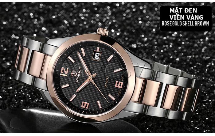 Đồng hồ nữ máy Quartz Vinoce 8380 thiết kế đẹp chất lượng