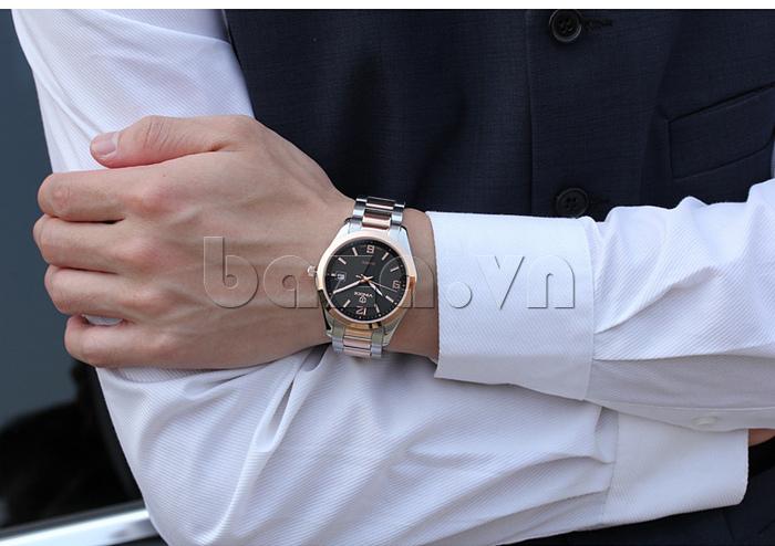 Đồng hồ nữ máy Quartz Vinoce 8380 thiết kế đẹp hot