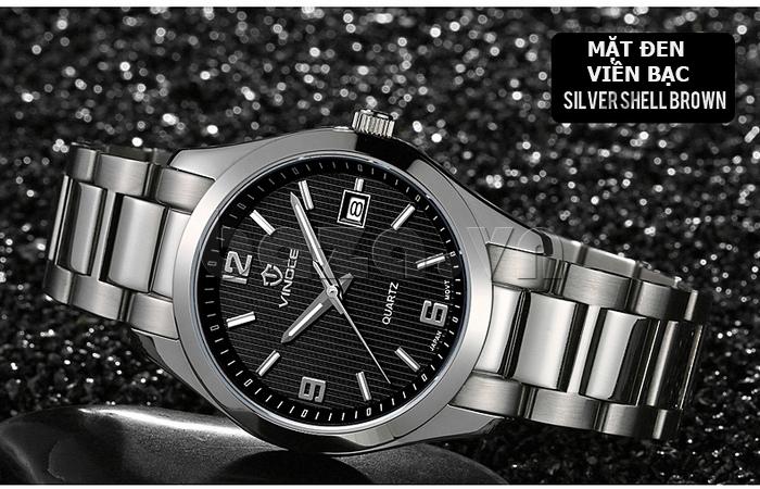 Đồng hồ nữ máy Quartz Vinoce 8380 thiết kế đẹp phá cách
