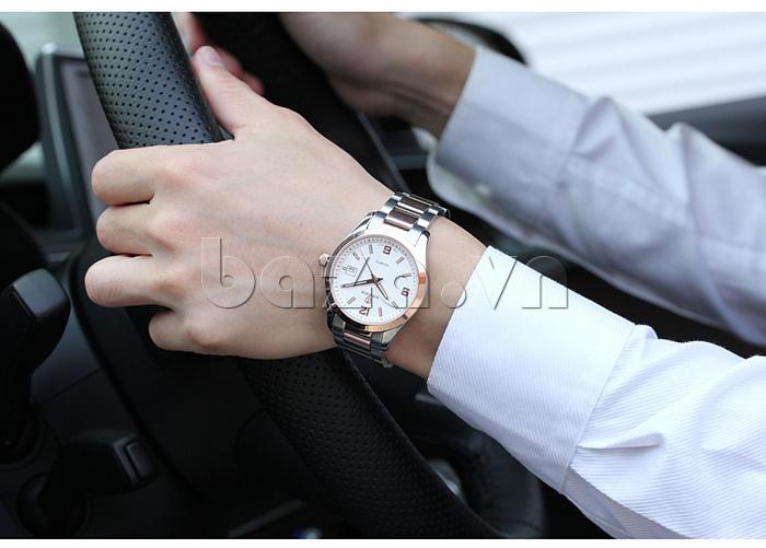 Đồng hồ nữ máy Quartz Vinoce 8380 thiết kế đẹp