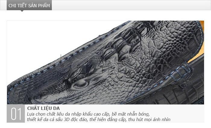 Giày nam Olunpo CCY1502 mạnh mẽ và ấn tượng