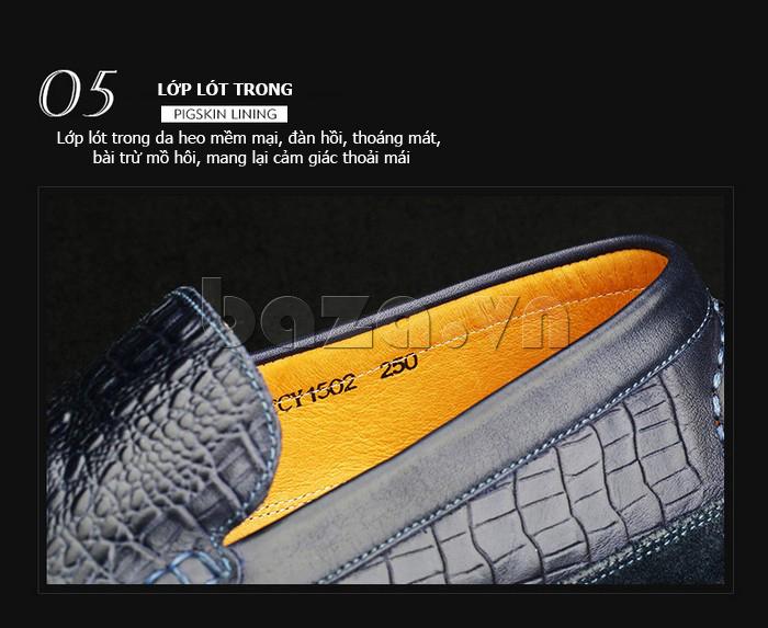 Giày nam Olunpo CCY1502 thời trang