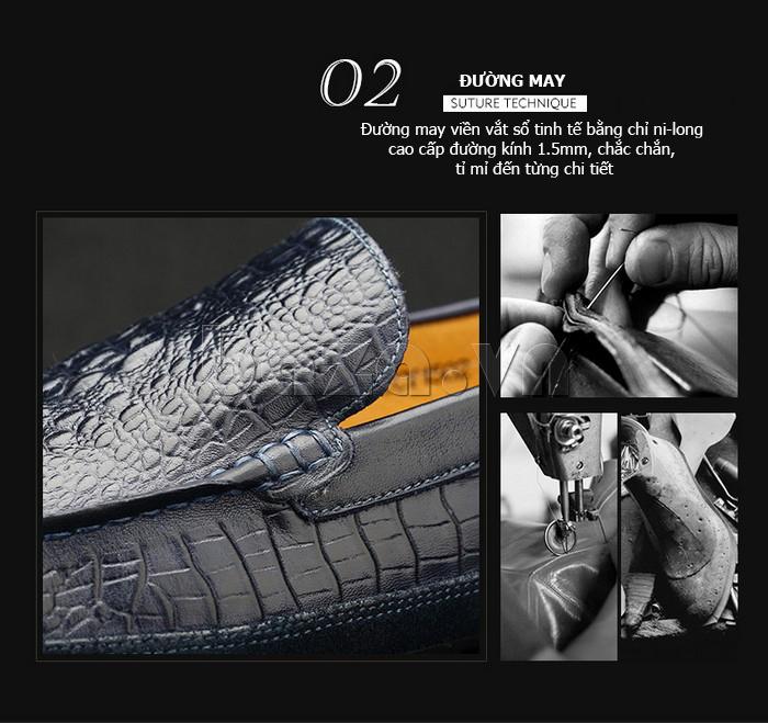 Giày nam Olunpo CCY1502 độc