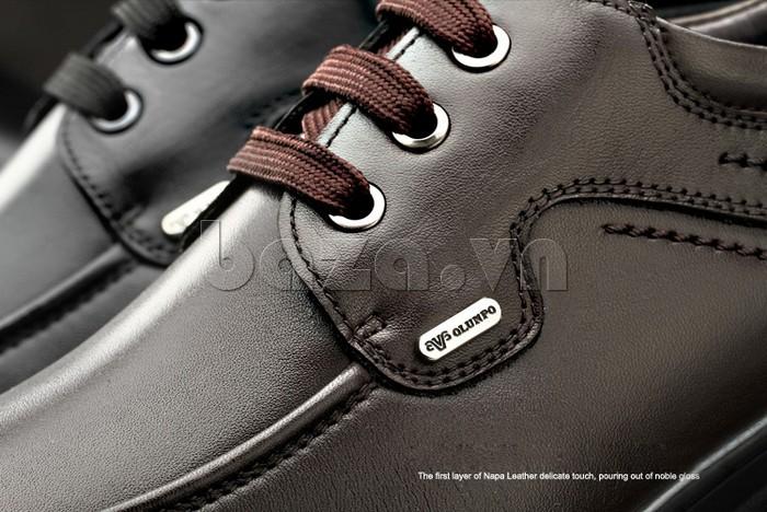 Giầy da nam thời trang Olunpo QYS1202 đẹp tới từng chi tiết