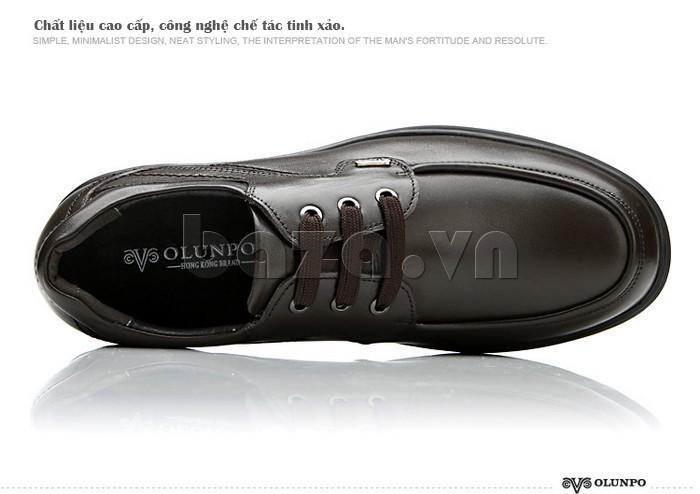 Giầy da nam thời trang Olunpo QYS1202 chất liệu cao cấp, công nghệ tinh xảo