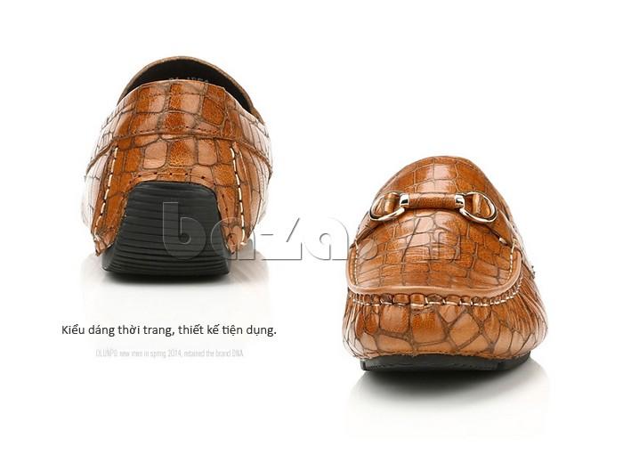 Giầy da nam Olunpo CJY1403 kiểu dáng thời trang, thiết kế tiện dụng