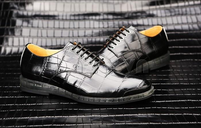 Giày da nam OLUNPO QDT1301 có thể chọn làm giày cưới