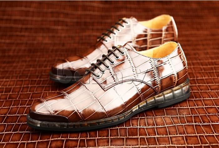 Giày da nam OLUNPO QDT1301 sang trọng và đẳng cấp