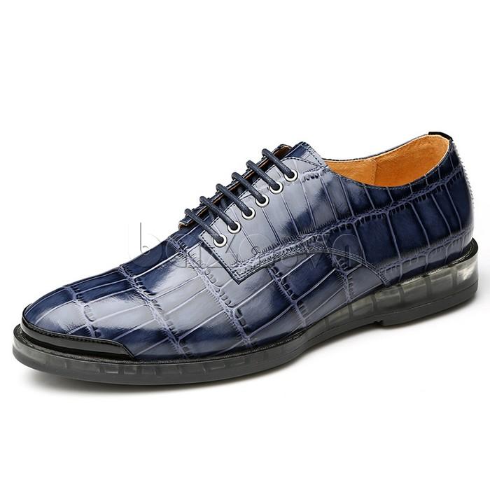 Giày da nam OLUNPO QDT1301 vân da phong cách Châu Âu
