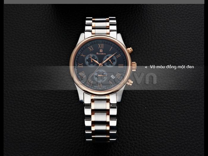 Phiên bản đồng hồ vỏ đồng mặt đen