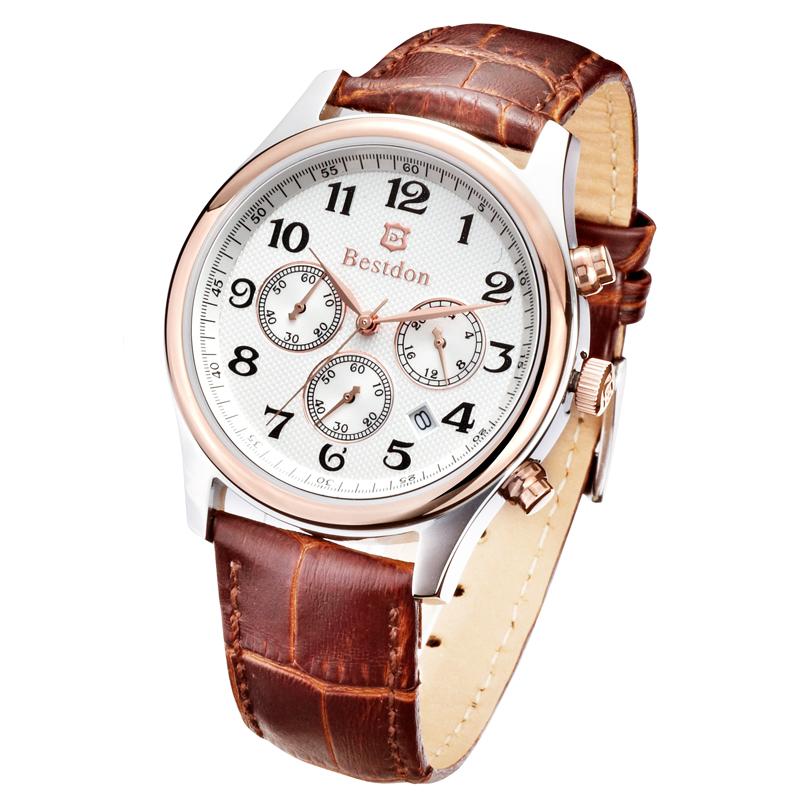 Mạnh mẽ, tinh tế và thể hiện phong cách lịch lãm quý ông cùng đồng hồ nam Bestdon.