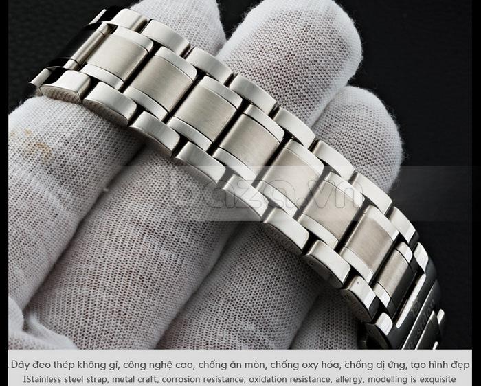 Dây đeo thép không gỉ, được mạ theo công nghệ cao