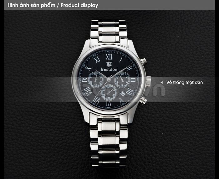 Phiên bản đồng hồ vỏ trắng mặt đen