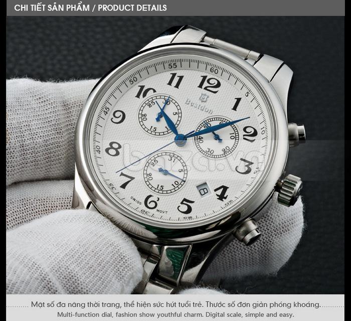 Mặt số đồng hồ đa năng thời trang, thể hiện sức hút của tuổi trẻ