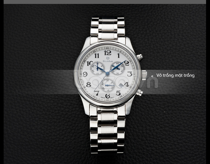 Phiên bản đồng hồ vỏ trắng mặt trắng