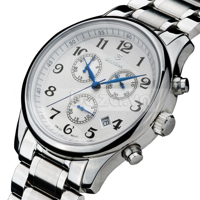 Thiết kế mặt đồng hồ là sự giao thoa giữa cổ điển và hiện đại