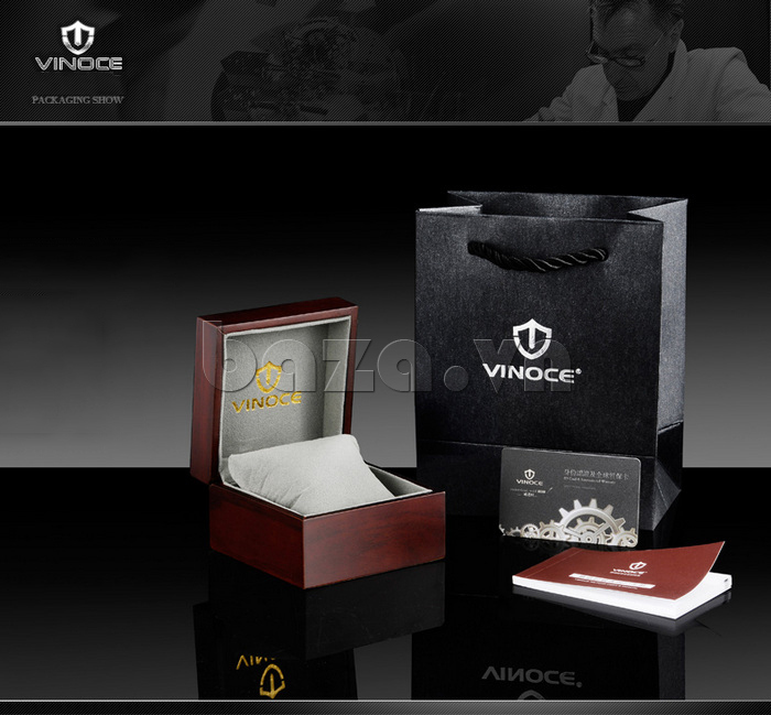 Đồng hồ đôi Vinoce V8373 thiết kế đẹp