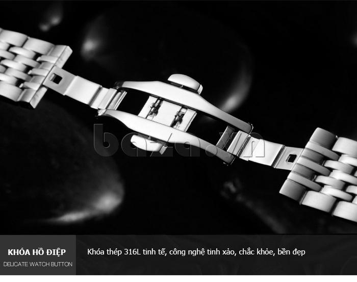 Đồng hồ đôi Vinoce V8373 thiết kế độc