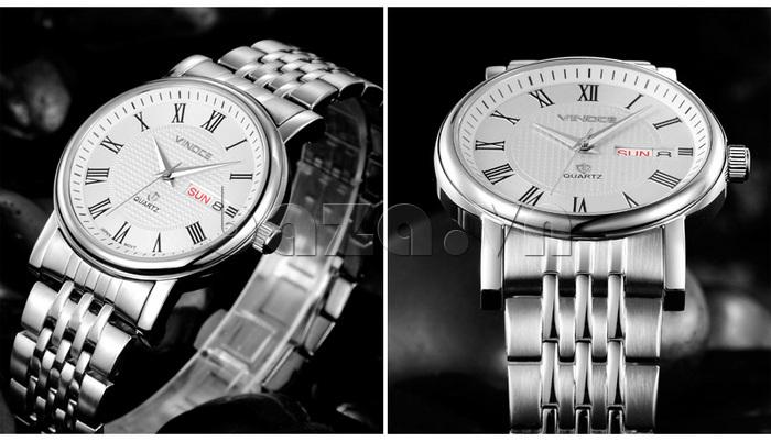 Đồng hồ đôi Vinoce V8373 thiết kế hoàn hảo